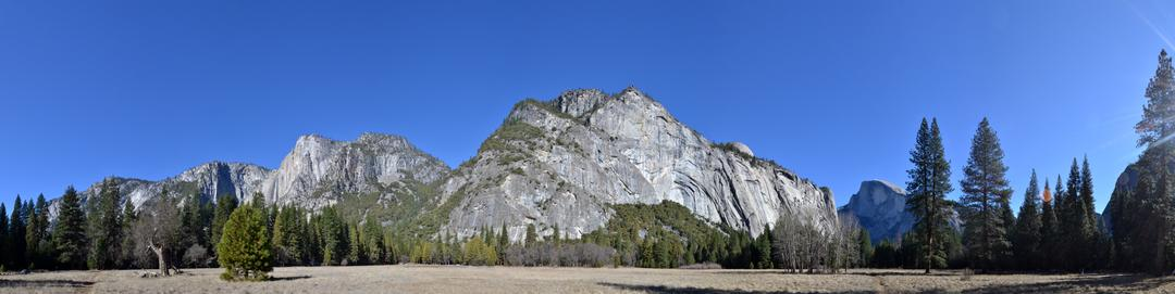 West to East, Eagle Peak to Half Dome
