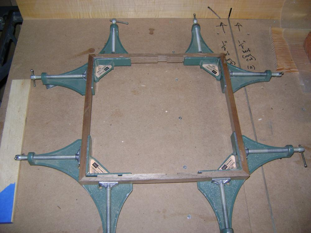 frame clamping